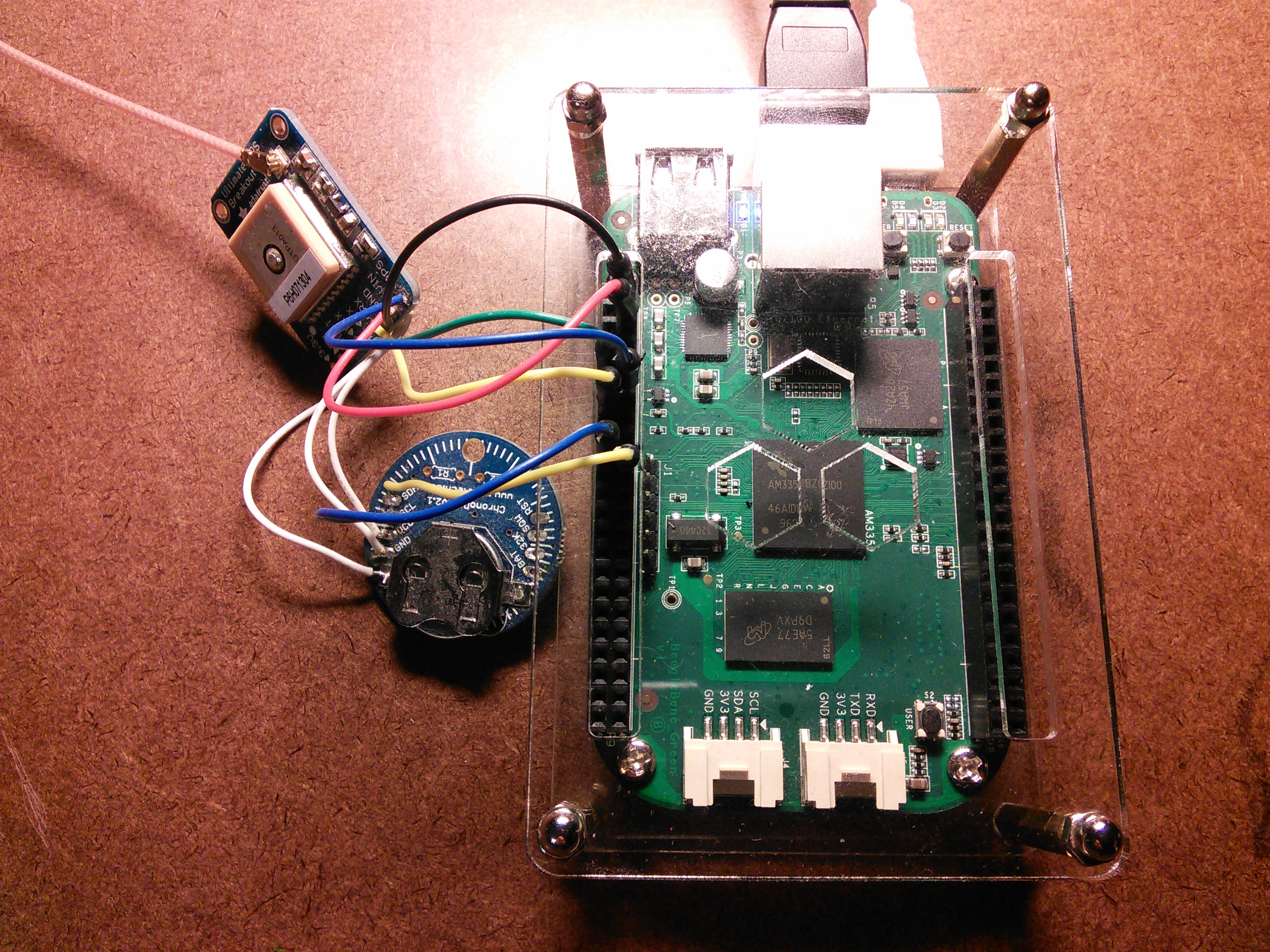 BeagleBone Green Time Server « Small Golden Sceptre